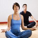 Meditatie man en vrouw