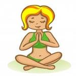 Meditatie: navelstaren?