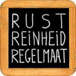 Rust, Reinheid en Regelmaat